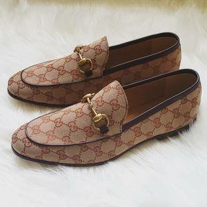 NEW Men Gucci Jordaan Loafers